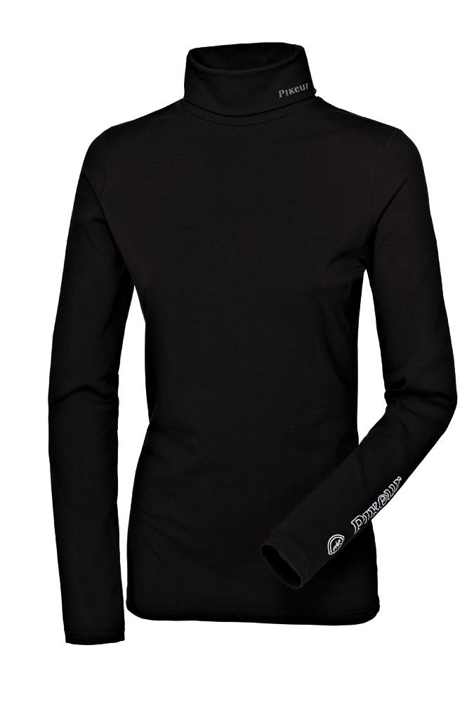 Billede af Pikeur trøje rullekrave Sina sort