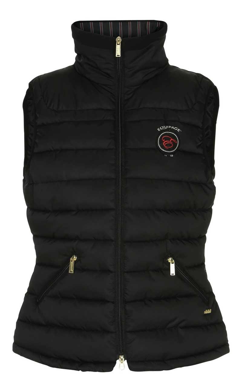 Image of   Equipage vest Andrea voksen sort