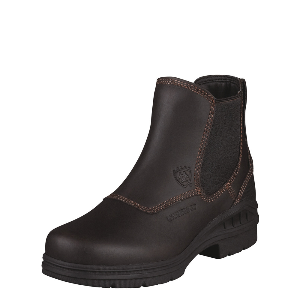 Image of   Ariat Barnyard Twin Gore H20 mørkebrun