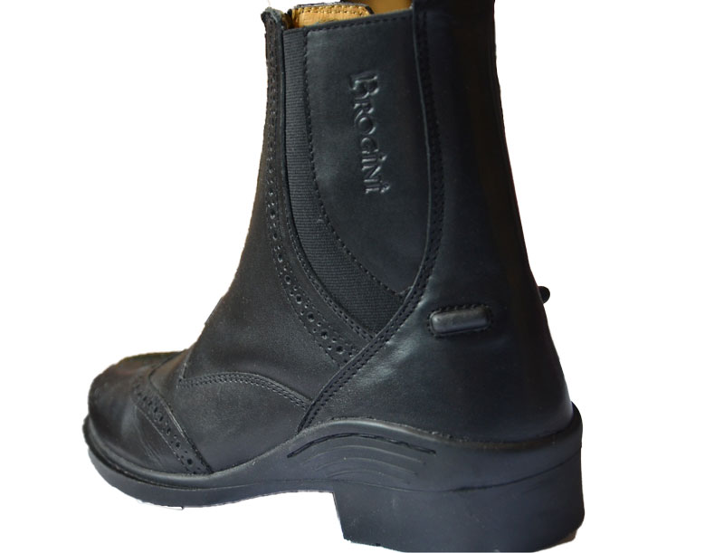 Brogini jodhpur støvler Epsom sort