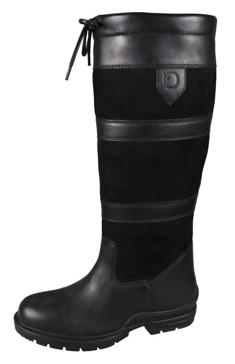 Campus lange sorte støvler