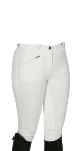 Image of   Carat Ridebukser hvid