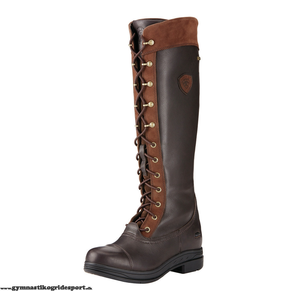 b7c443977502 Ariat Coniston Pro ridestøvler GTX brun til en billig pris KØB HER