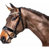 Horseguard trense sort uden tøjler
