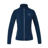 Lækker fleece trøje fra Kingsland med lynlås og smart logo på fronten i farven blue