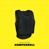 Komperdell sikkerheds vest Level 3 Sort