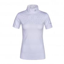 Kingsland stævne shirt Janna med sten hvid front