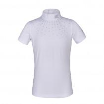Kingsland stævne shirt Janessa til børn med sten hvid front