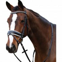 Horseguard trense sort med hvid foring