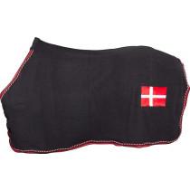 Catago fleecedækken med flag sort