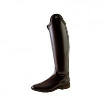 Cavallo læderstøvler Insignis LUX slim mørkebrun med pynt i buen