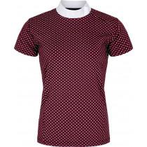 Euqipage shirt Dagny Bordeaux