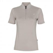 Equipage shirt med korte ærmer Awesome walnut melange front