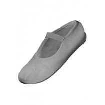 Gymnastik sko balance i sølv glimmer