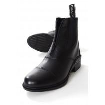 Jodphur støvler med lynlås sort