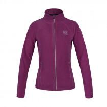 Super smart Kingsland fleece jakke Hazel i en frisk pink farve front