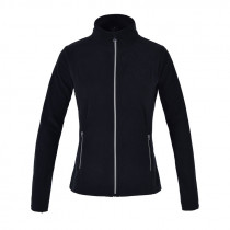 Super lækker Kingsland fleece trøje i modellen Hazel og i farven sort