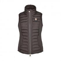 Kingsland vest deedee brun front