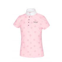 Pikeur stævne tshirt børn Filly lyserød