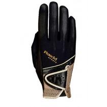 Roeckl handsker Madrid sort og guld