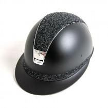 Samshield Miss Shield sort med fine medley Jet Hematite top og bånd
