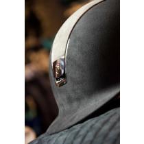 Samshield ridehjelm Alcantara med brun Lezard top