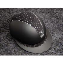 Samshield ridehjelm shadowmatt sort Miss Shield Comet Crystal