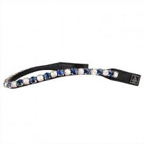SD pandebånd Be Tempted sølv og blå R-1027