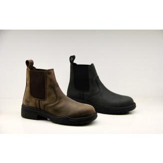 Bronco sikkerheds Jodhpur støvler sort