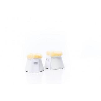 RBH Platinum klokker med lammeskind hvid