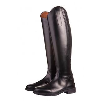 HKM læderstøvler børn Rimini sort