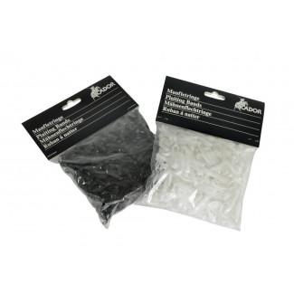 Man elastikker i silikone sort eller hvide