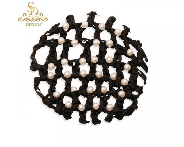 SD Design hårnet med perler K-103