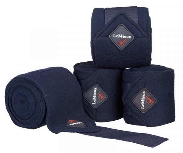 LeMieux Polo fleece bandager navy
