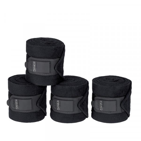 Eskadron Fleece bandager Classic caviar