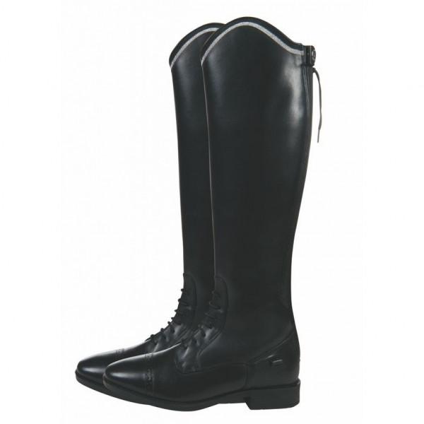 HKM læderstøvler sort Valencia børn