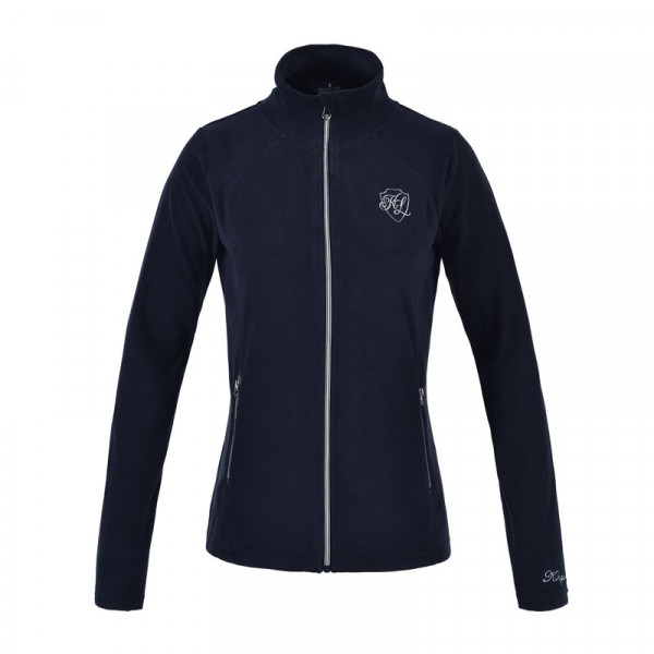 Kingsland fleece trøje Hazel navy