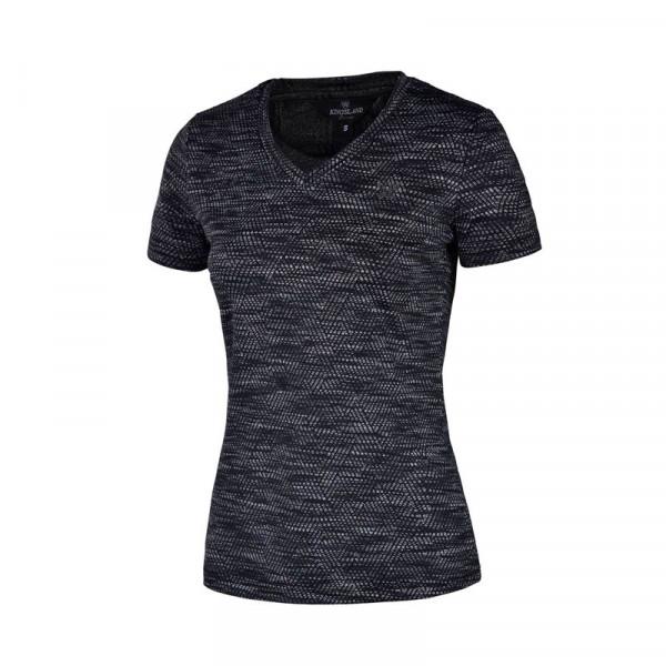 Kingsland t-shirt femmie charcoal melange