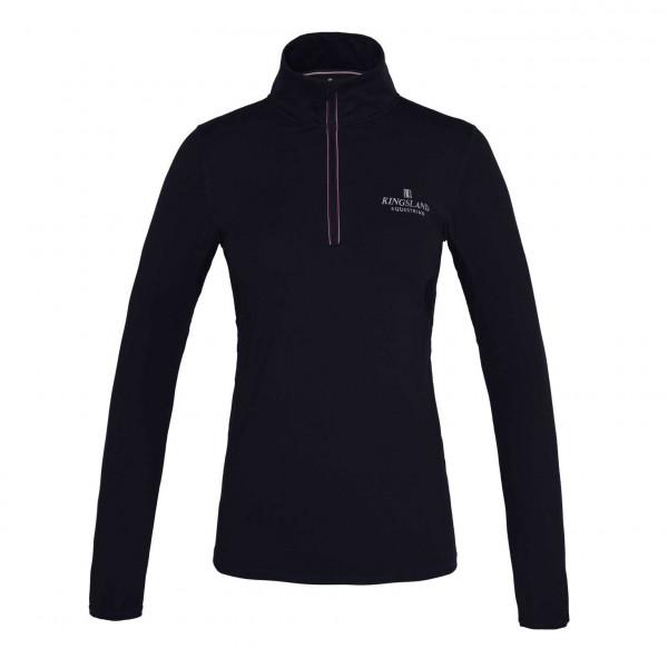 Kingsland trænings langærmet shirt Classic navy