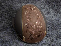 Samshield ridehjelm shadowmatt Miss Shield Flower swarovski jewerly brun set bagfra