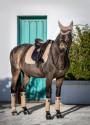 Lemieux underlag suede champagne på hest