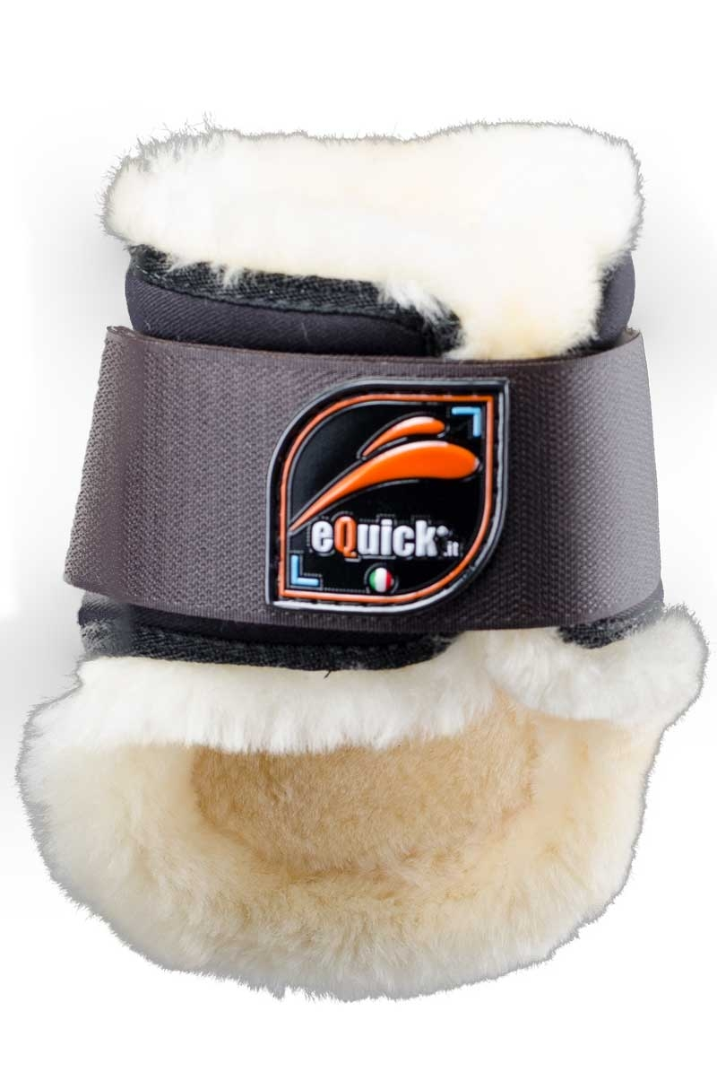 equick eLight spring gamacher med lam bagben sort