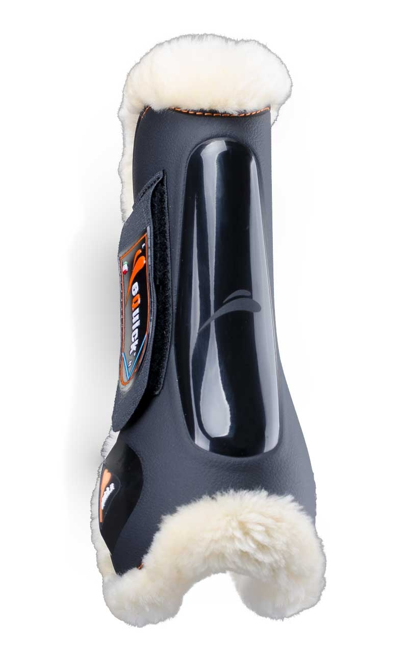 Billede af equick eLight spring gamacher med lam forben sort