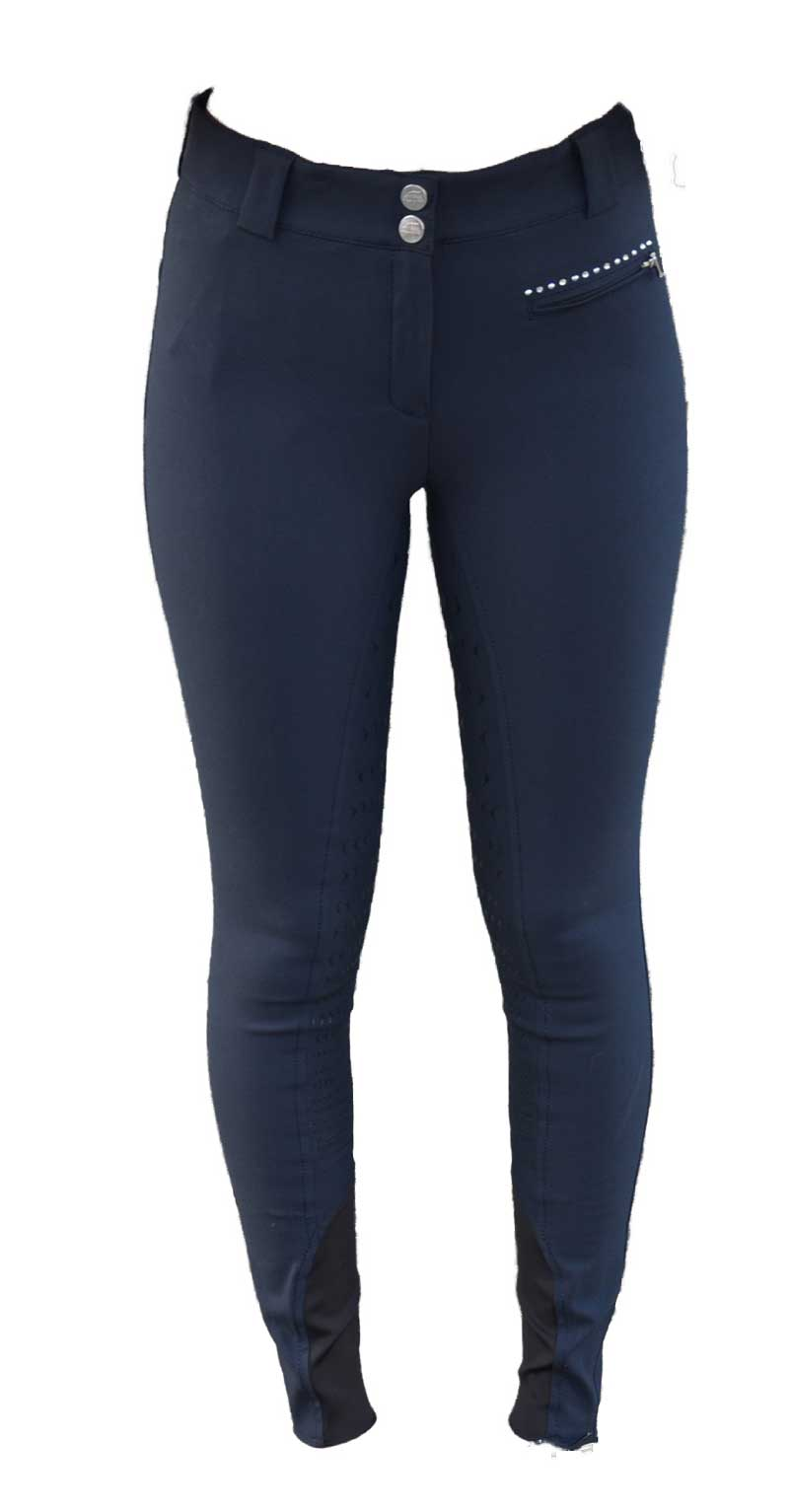 Equiline Ridebukser Cecile navy