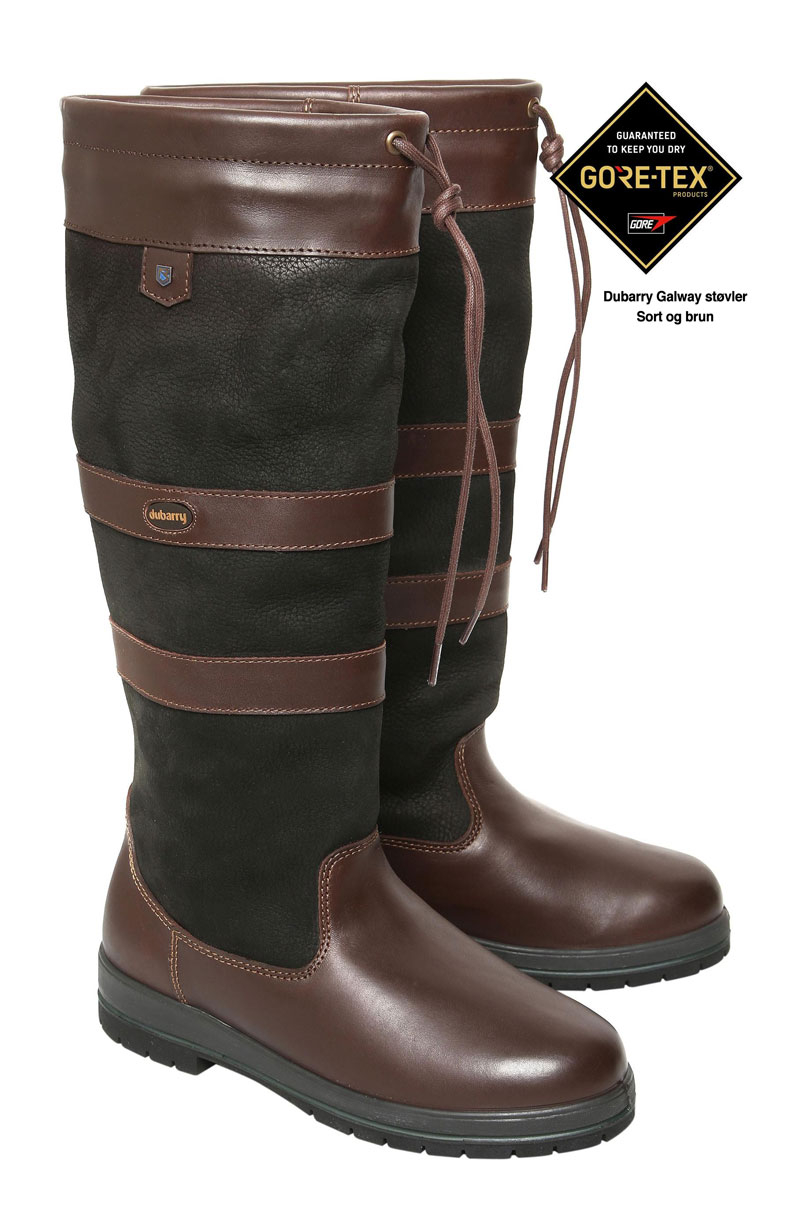 Image of   Dubarry Galway sort og brun