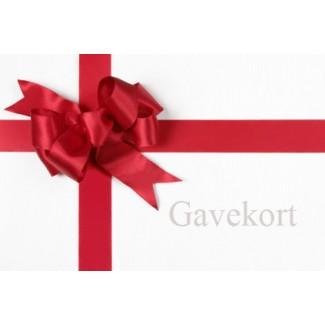 Image of   Gavekort både til butikken og webshoppen
