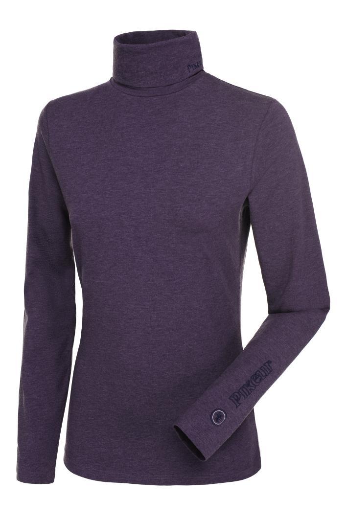 Pikeur trøje rullekrave Sina Grape Melange