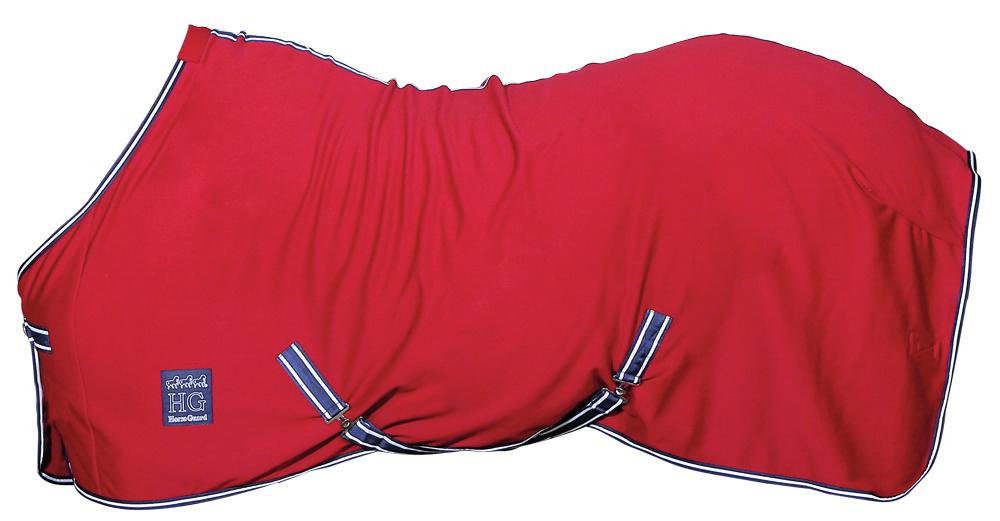 HorseGuard fleecedækken rød