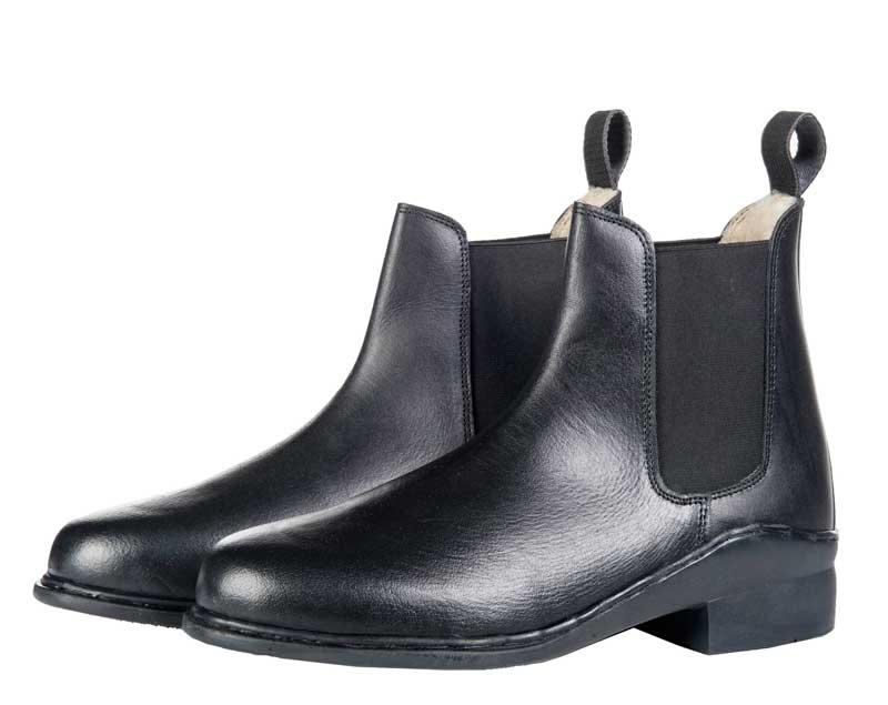 HKM jodhpurs støvler sort med teddy foer