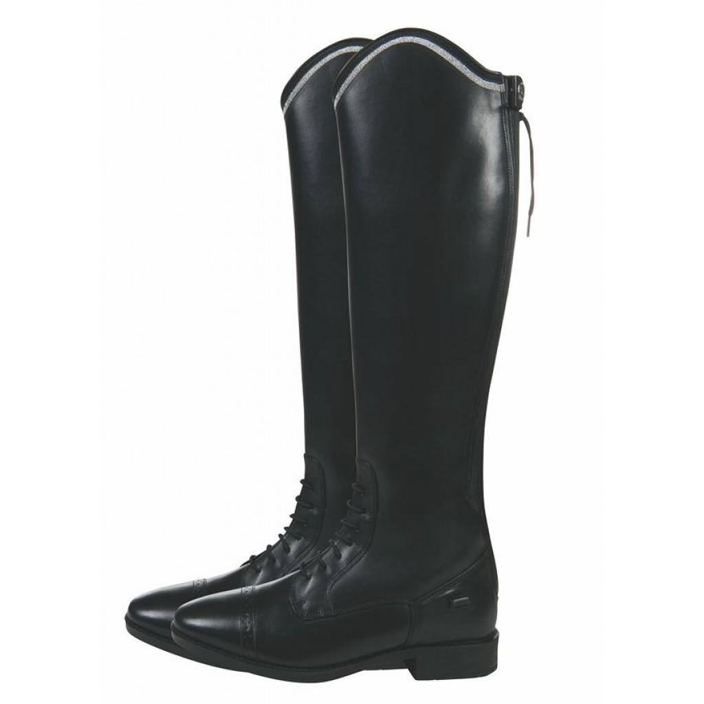 Image of   HKM læderstøvler sort Valencia voksen